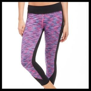 Fabletics Sydney Space Dye Crop Leggings
